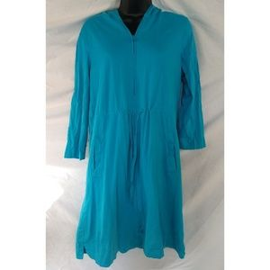 Lands' End 3/4 Sleeve Swim Coverup